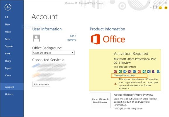 microsoft office professional plus 2013 etkinlestirme program